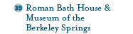 Roman Bath House & Museum of the Berkeley Springs